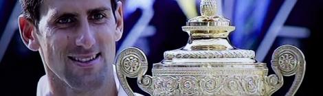 Novak Djoković Wimbledon voittaja 2014
