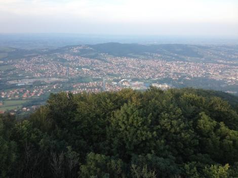 Serbian kauniita maisemia