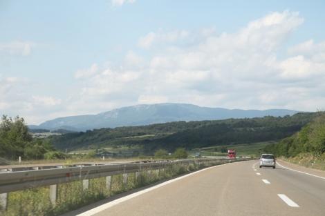 Moottoritieltä käsin pystyi myös nauttimaan maisemista.