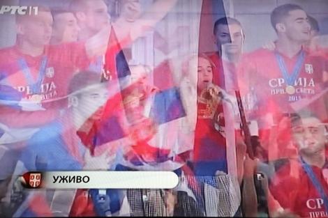 Nuorten MM-jalkapallojuhlaa Belgardissa.