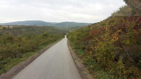 Fruska Goran luonnonpuistossa värit alkavat jo hehkua syksyä.
