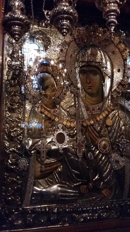 Pyhä Kolmikätinen Neitsyt Maria Grgetegin luostarissa.