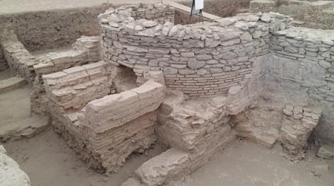 Viminacium, Therme, roomalaisajan kylpylän raunioita.