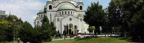 Hram - Belgradin ortodoksikatedraali kesällä 2018.