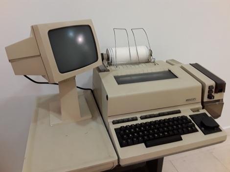 Fax-tietokone 1970-luvulta