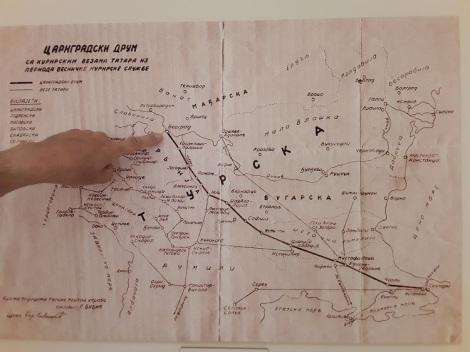 Tataarien postireitti Konstantinopoli-Belgrad