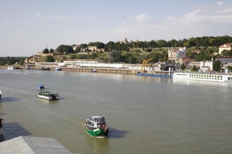 Sava-joki, Kalemegdan ja Beton hala