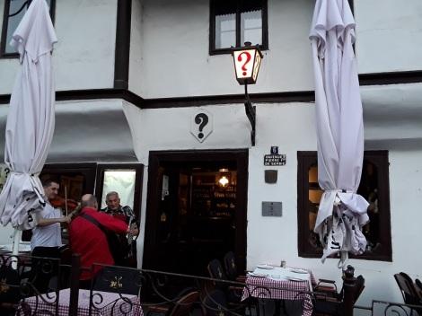 Znak Pitanja ravintola Belgrad